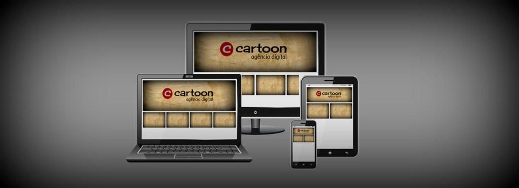 O design responsivo da Cartoon